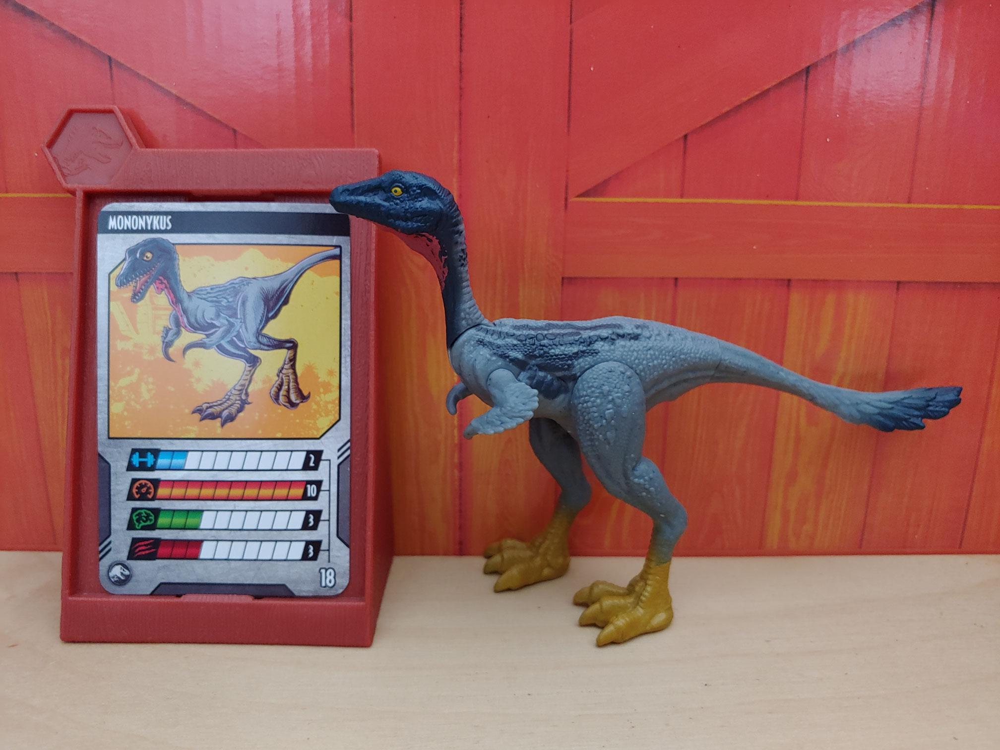JURASSIC WORLD Dino rivali VELOCIRAPTOR DELTA Attack Pack GCR46 dinosauro Figura